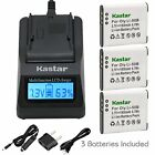 Li-50B Battery or Fast Charger for OLYMPUS VG-170 VG-190 VH-410 VH-5 VH-510
