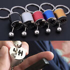 key ring manufacturer - Metal Finish Gear Box Shifter Key Fob Ring For Car 6-Speed Model Keychain EH