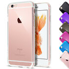 Transparent Clear Soft Silicone Gel Case for iPhone 6S by Case Buddy
