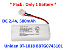 2 X Cordless Phone Batteries B1-3 BT162342 BT262342 for Vtech BT-1018 Battery...
