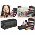 make up travel cases - US Travel Roll-up Cosmetics Makeup Organizer Pouch Hanging Toiletry Bag Case