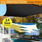 Extra Large Top Sun Shade Sail Shelter Outdoor Garden Patio Cover Awning Canopy
