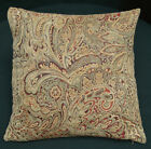 We601a Paisley Leaf Damask Chenille Throw Cushion Cover/Pillow Case*Custom Size