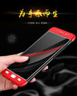 3 in 1 Luxury Matte Finish Hybrid Front & Back Case Cover For Vivo Y67