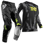 New THOR MX 2018 PULSE AIR RADIATE Black Adult Motocross Jersey & Pants Outfit