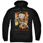 Betty Boop Sunset Rider Pullover Hoodies for Men or Kids $25.88 USD