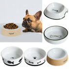 2 x Dogs Cats Feeder Food Water Bowl Food Dispenser Dishes Feeders Fountains