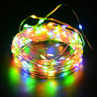 12 meters 100LED Copper Wire Garden Holiday Party Decoration Solar Energy Lamp