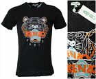 New Season Men's Kenzo Paris Tiger Emboridered Tshirts 4 Colors All Sizes