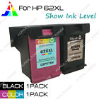 HP62XL Black & HP62 XL Color Ink Combo for HP Envy 5646 5660 5661 5665 7640 7645