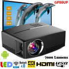 3D HD 1080P Projector LED Multimedia Home Theater Cinema HDMI VGA 7000 Lumens EM