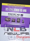 BRAND NEW HD Digital Movie Variation Lot Action/Family/ (Some Redeem SD see AD)