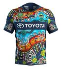 NRL North QLD Cowboys 2018 Indigenous Jersey  Sizes S - 7XL