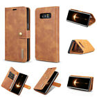 Genuine Cow Leather Royal Wallet Phone Case For Samsung S7 Edge S8 S9 Plus Note8