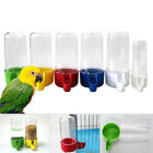 Automatic Bird Feeder Food Water Storage Parrot Cage Drink Container 50/200ml