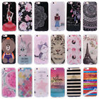 Luxury Bling Flowers Print Glitter Soft TPU Phone Case For iPhone 7 6 6s Plus
