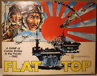 Flat Top 1942 WWII Pacific War USA VS Japan Board Game Missin some unit counters