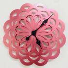 Large 3D Wall Clock Modern Design Metal Unique Watch Wall Clocks Home Decor 14