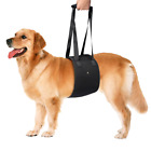 Dog Lift Support Harness with Support Sling Help Dogs Weak Front or Rear Legs