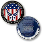 NEW USAF U.S. Air Force Oath of Enlistment Challenge Coin.