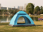 Family 2-4 Person Camping Tent Auto Pop Up Quick Shelter Outdoor Hiking Backpack