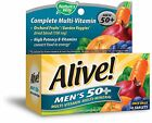 Nature's Way Alive! Men's 50+ Multi-Vitamin Tablets, 50 Ct (8 Pack)