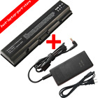 Battery for Toshiba Satellite L305D-S5974 TS-A200 L300 PA3534U-1BRS Laptop charg