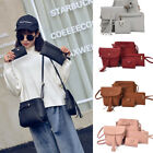 4pcs/Set Women Handbag Lady Shoulder Bags Tote Purse Messenger Satchel Leather