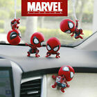 New Cute Spiderman Bobble Head Figure Car Accessories Spider-Man Home Coming