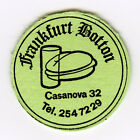 # SPAIN 1977 ☆ ROUND LIGHT CARDBOARD / PAPER TOKEN - F. BOTTON, Barcelona ☆F0149