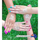 Set of Temporary Tattoos Bridal Set of 16-12-8-4 Party Tattoo - Hens Party Bride