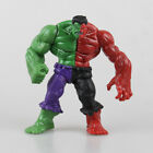 "5"" Avengers Hero The Green Man Gray Red Hulk Action Figure PVC Toys"