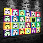 HD Print Oil Painting Decor on Canvas POP ART Star Wars Multiple Size Options $9.0 USD on eBay