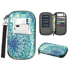 Passport Holder Travel Wallet RFID Blocking Document Organizer Case Hand Strap