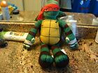 """NICKELDEON PLUSH TURTLE DOLL WITH THE RED BAND 17"""" TALL"""