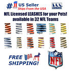 NFL Leash for Dogs & Cats, Heavy-Duty, Licensed. 32 Football Teams, 3 sizes. NEW $11.99 USD on eBay