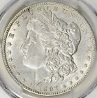 1897-O MORGAN SLIVER DOLLAR PCGS AU-50 SHARP WITH LUSTER AND LIGHT TONING