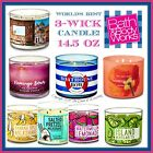 Bath & Body Works 3 Wick Candles 14.5 oz World's Best Candle! Free Shipping!