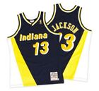 Mark Jackson Indiana Pacers Mitchell & Ness Mesh NBA Swingman Jersey Navy Yellow on eBay