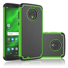 For Motorola Moto G6/Moto G 6th Gen Shockproof Dual Layer Hybrid Rugged Case