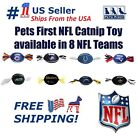 Pets First NFL Catnip Toy, Licensed, Plush, polyfilled Cat toy. 8 Football teams $7.49 USD on eBay