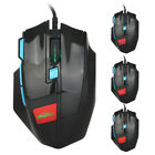 GINWFEIY 4000DPI Wired 7D LED Optical USB Pro Gming Mouse Mice  For PC Laptop