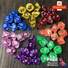 DND/Tabletop RPG - Full Set of Dice - Different Colours Available! *MTG Pokemon*