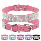 Crystal Dog Collars Fancy Small Bling Dog Collar Dog Cat Necklace with XS S M
