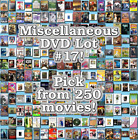Miscellaneous DVD Lot #17: DISC ONLY - Pick Items to Bundle and Save!