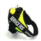 Service Pets Vest Adjustable Patches Harness Reflective Dog Small Large Medium