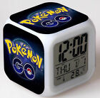 Pocket monster Pokemon GO Color Changer Night light Digital Alarm Clock Hot