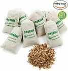 GREENLE Moth Repellent Sachets With Natural Camphorwood Root Chips Shaving An...