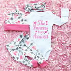 UK Stock Newborn Outfit Baby Girls Rompers Leggings Playsuit Clothes Bodysuit <br/> FASHION AND GOOD QUALITY. fast ship.