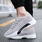 Men Sneakers Casual Breathable Canvas Shoes Comfort Running Tennis Sport Shoes
